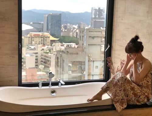 【黃圓媛Vivian-香拓熱石溫熱了每一寸肌膚】坐擁17樓無敵城市景觀  台北頂級私密spa按摩